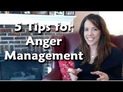 5 Tips for Helping Your Family Manage Anger!