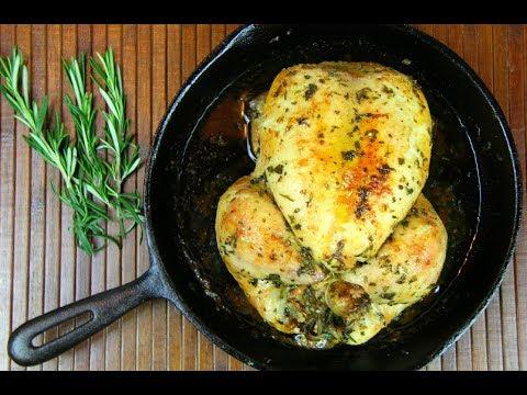 Simple Herb Roasted Chicken #TastyTuesdays | CaribbeanPot.com
