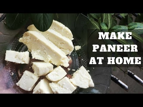How To Make Paneer At Home | WORKitOUT Recipes