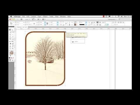 Adobe InDesign CS5 Live Corner Effects