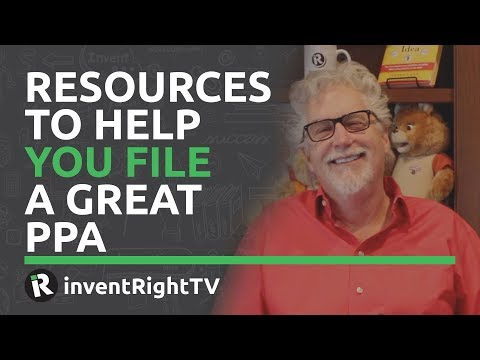 Resources to Help You File a Great PPA