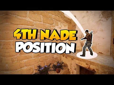 CS:GO Quick Tips - The 4th Nade Position on Mirage