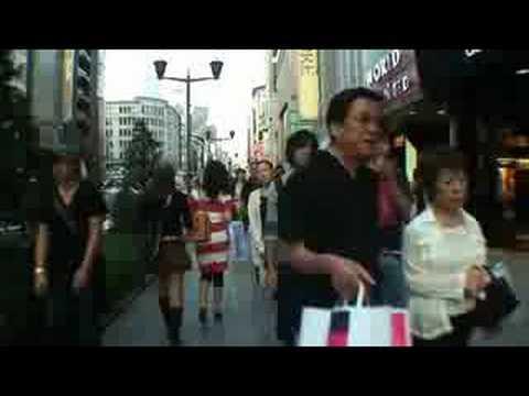 walking in tokyo,ginza 5/6
