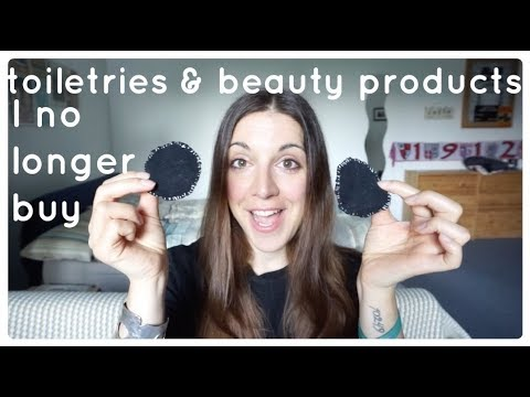 Toiletries & beauty products I no longer buy | Minimalism & low waste