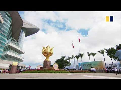 LIVE: Hong Kong marks handover anniversary