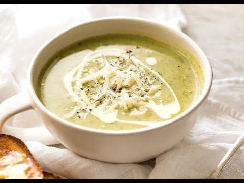 Healthy Creamy Zucchini Soup