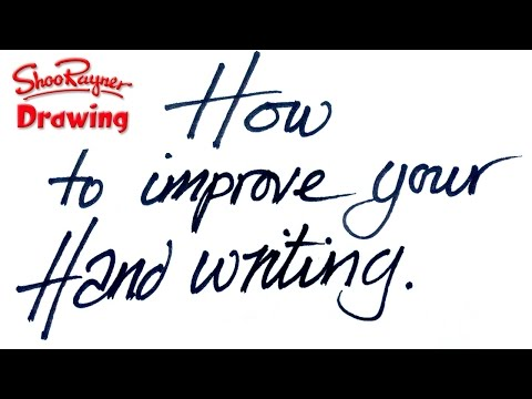 How to improve your Hand Writing