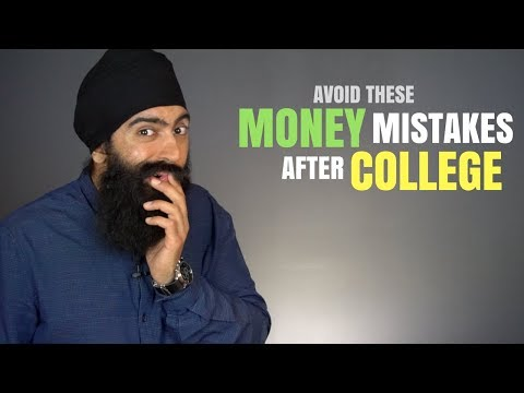 Don't Make These 5 Common Money Mistakes After College