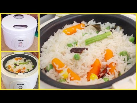 Howto: Make Pulao Rice In A Rice Cooker !