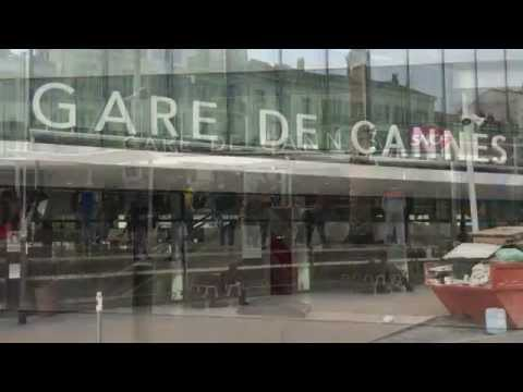 Gare De Cannes and and the near area