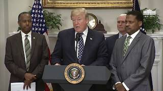 President Trump Signs a Proclamation to Honor Dr. Martin Luther King, Jr. Day