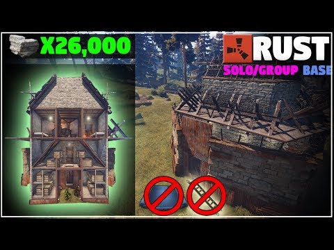 Strong CHEAP SOLO or Small Group Design | (Layout) Rust Base Building