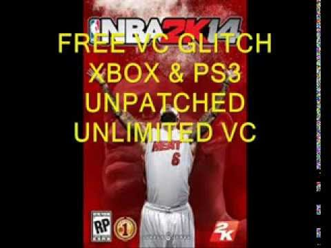 XBOX ONE & PS4 FREE VC GLITCH NBA 2K14 UNPATCHED UNLIMITED VC