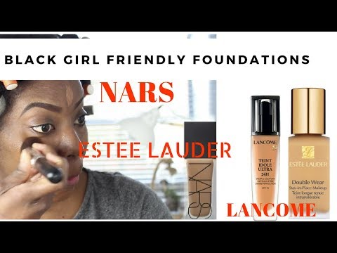 The Best Top High-end Foundations for Black Women   Estee Lauder   Nars   Lancome