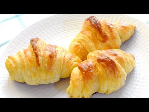 Easy homemade croissant recipe