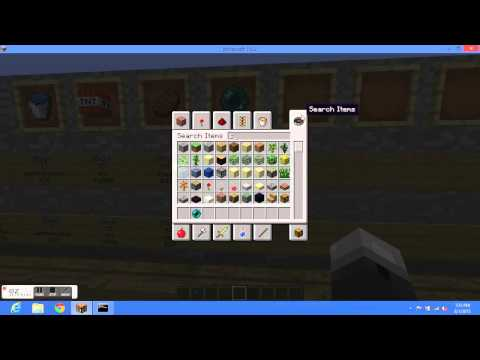 Minecraft 1.6.2 How to make a shop with essentials