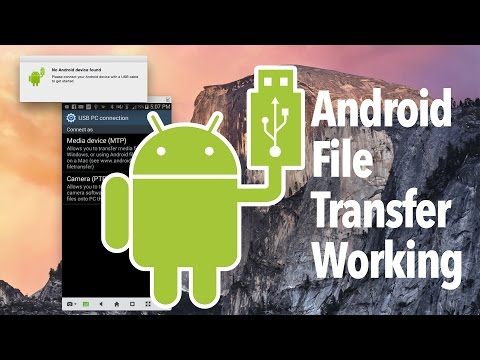 Android file transfer not working fixed on my Mac finally