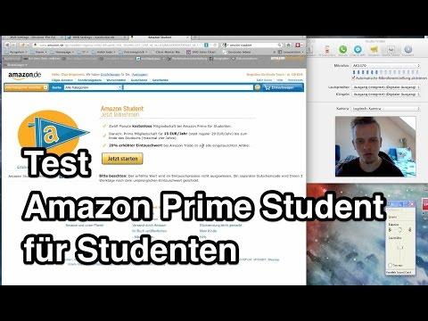Test Amazon Prime Student | Amazon Prime Für Studenten | Amazon Prime Studenten