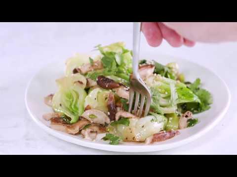 Shiitake-and-Sesame Bok Choy | Cooking Light
