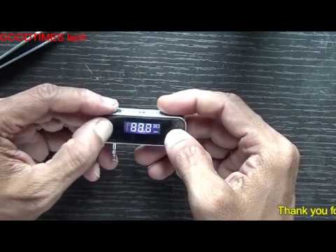How to replace BATTERY of an DIGITAL FM Transmitter.