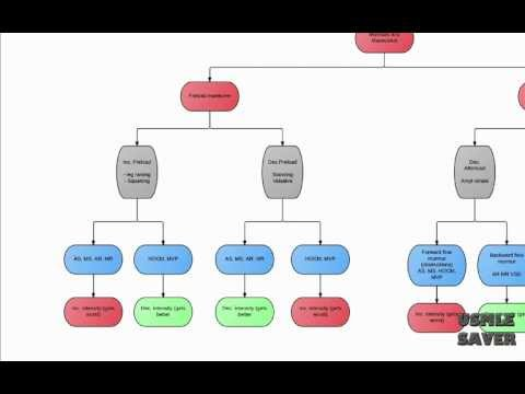 Maneuvers and Murmurs flowchart USMLE step 2 CK