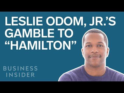 "Leslie Odom, Jr 's $500,000 Gamble That Led To ""Hamilton"""