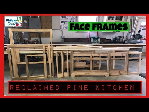 Reclaimed pine kitchen /cozinha de pinos reciclado part 1
