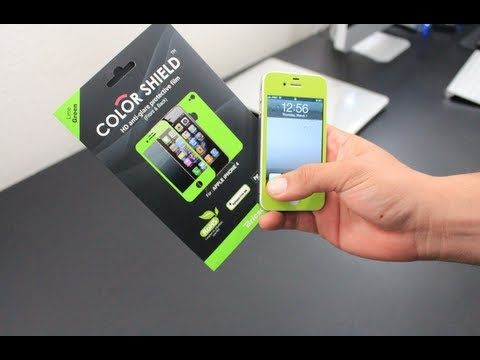 Bricson Color Shield iPhone 4/4S Screen Protector - Review