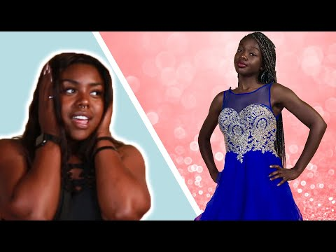 Women Try Amazon Prom Dresses Under $50