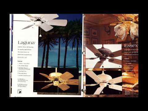 Minka Aire Ceiling Fan Catalog from 1996