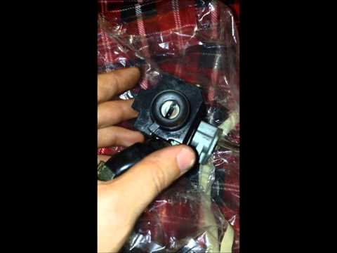 How to replace ignition and ignition lock cylinder