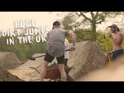 Building & Riding The UK's Biggest Dirt Jumps...
