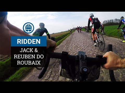 Roubaix On Gravel Bikes - Jack & Reuben Ride Pavé In Style