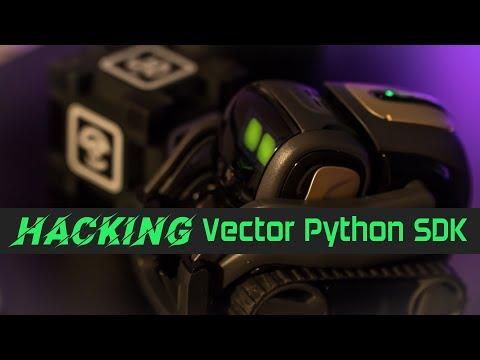 Hacking Anki Vector SDK to enhance the Vector SDK API