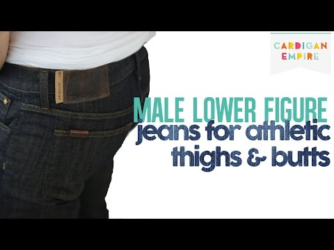 The Best Three Men's Jeans for Athletic Thighs and Butt