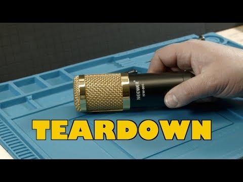 Neewer NW-800 Condenser Microphone Teardown