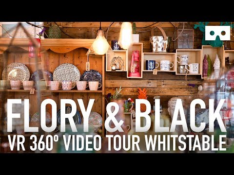 Flory & Black Whitstable VR 360 shop tour