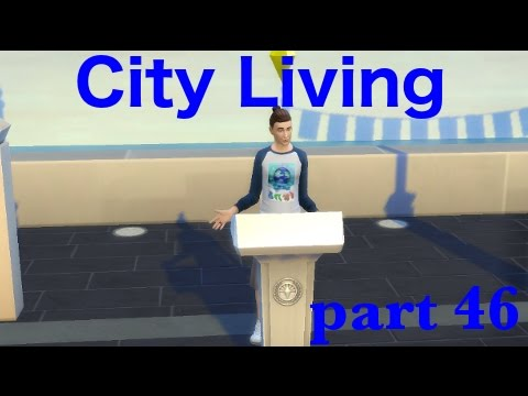 Let's Play The Sims 4 | City Living | Confident Speech | Part 46
