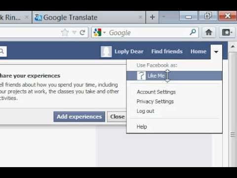 How to make page at facebook 3/1/2012
