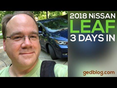 2018 Nissan Leaf: 3 Days In