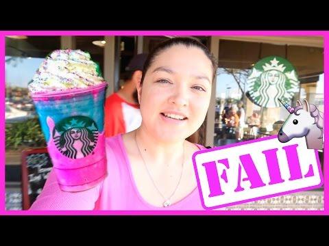 Starbucks Unicorn Frap FAIL! | April 20, 2017