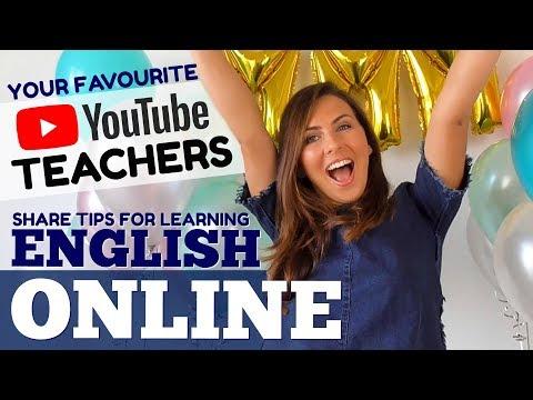 Your Favourite Teachers + TOP ENGLISH TIPS + 1 MILLION! 🎉