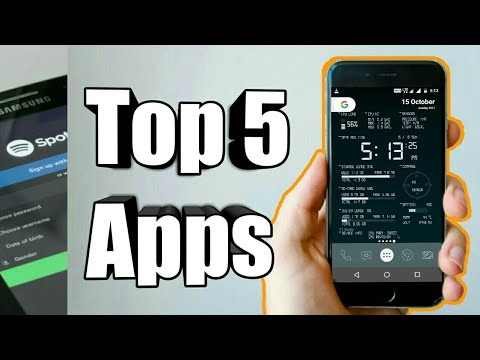 Top 5 Android Apps October 2017 Edition ✓