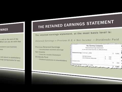 Accounting 101: The Retained Earnings Statement