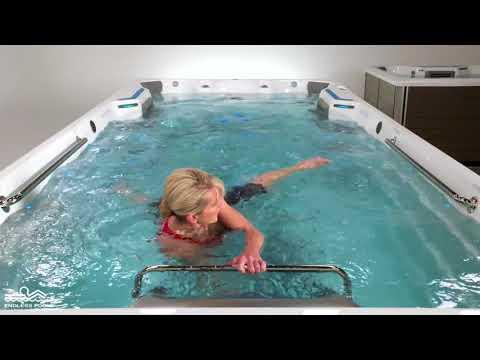 Fit@Home Water Exercise #2  - Flutter + Scissor Kicks