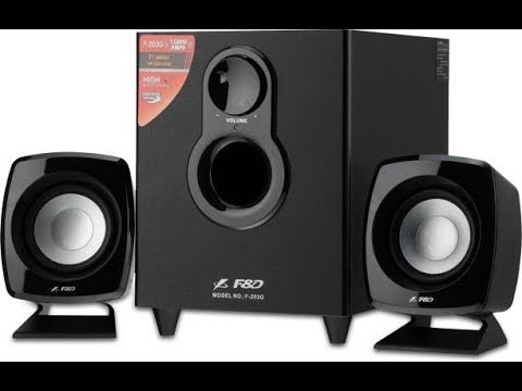 Unboxing and Review of F&D F-203G 2.1 Channel Multimedia Speaker