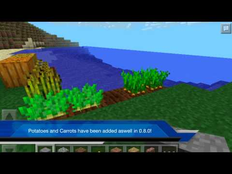 Minecraft Pe 0.8.0 news and an EXLUSIVE 0.9.0 feature + Release date!