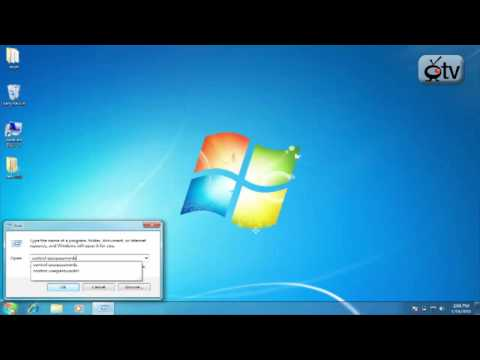 Windows 7 How To: Login Without a Password