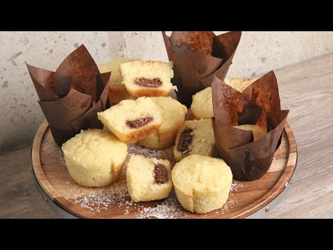 Nutella Stuffed Vanilla Muffins | Episode 1136