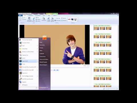 How to use Windows Live Movie Maker To Make A Lyrics Video